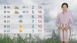 [날씨] 휴일 포근한 봄날씨…오전 공기질 나쁨