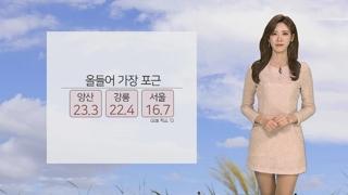 [날씨] 때이른 완연한 봄날씨…내일 전국 봄비