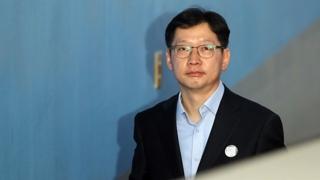 김경수 항소심 시작…보석 여부는 다음달 결정