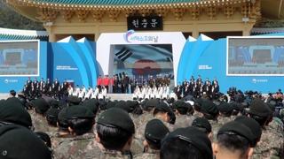 """與 """"평화 노력이 안보"""" vs 野 """"북한 눈치 보기"""""""