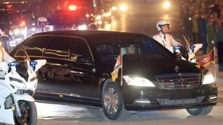 미국 제재 중국 해운사는 '김정은 벤츠' 수송 회사