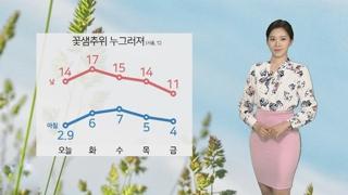 [날씨] 꽃샘추위 누그러져…오후부터 미세먼지