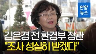 [영상] '환경부 블랙리스트' 김은경 전 장관, 3번째 검찰 소환