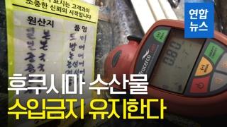 [영상] 후쿠시마 수산물 수입금지 유지…WTO 분쟁서 승소