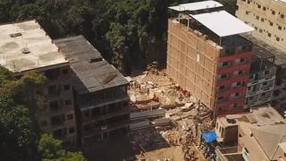 브라질 리우 시내 주거용 건물 2채 붕괴…5명사상