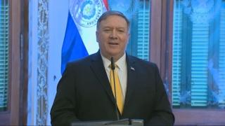 """폼페이오 """"하노이 이후에도 북미대화 지속…비핵화 진전 확신"""""""