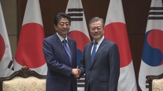 """일본 언론 """"아베, G20서 한일정상회담 추진 안해"""""""