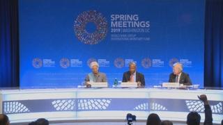 """IMFㆍWB """"세계경제 하방 위험""""…국제공조 촉구"""