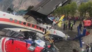 에베레스트 인근 소형비행기 사고로 3명 사망