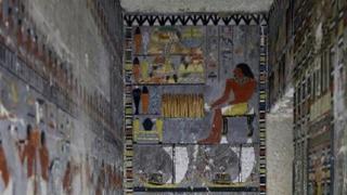 이집트 사카라 유적지서 4천여년전 무덤 발굴
