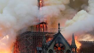큰 화재 노트르담…'프랑스 문화 집약' 인류문화유산