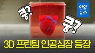 [영상] 혈관도 있는 '3D 프린팅 인공심장' 공개
