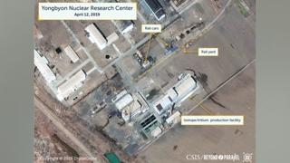 """美연구소 """"영변서 방사성물질 이동 또는 재처리 가능성"""""""