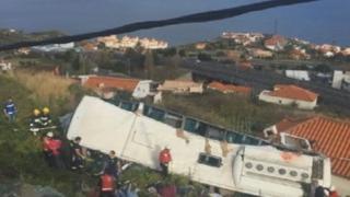 포르투갈서 관광버스 추락…독일 관광객 수십명 숨져