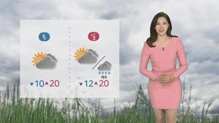 [날씨] 서쪽 포근ㆍ동쪽 선선…주말엔 맑고 따뜻