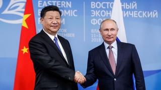 푸틴, 북ㆍ러 정상회담 다음날 시진핑과 정상회담