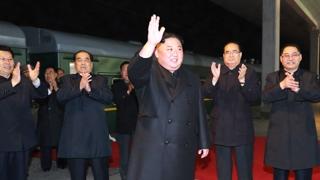 김정은 전용열차로 방러…오늘 오후 블라디보스토크에
