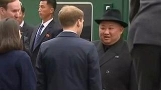 [현장연결] 북한 김정은, 러시아 블라디보스토크역 도착