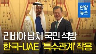 [영상] 리비아 납치 한국인 극적 석방…한국-UAE '특수관계' 작용했다