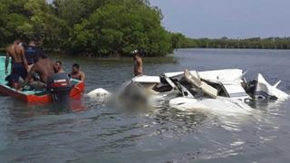 카리브해서 경비행기 추락…탑승 5명 전원 사망