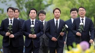 '노무현 10주기' 추도식에 당정청 인사 총집결