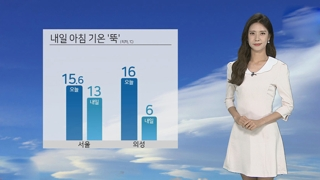 [날씨] 맑고 선선…주 중반 여름더위 나타나