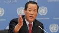 El principal enviado de Corea del Norte ante la ONU repite los llamamientos para..