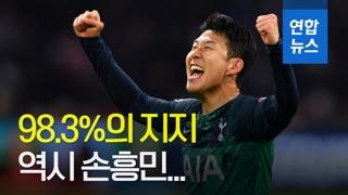 [영상] '반드시 지켜야 할 선수' 손흥민…98.3% 압도적 지지