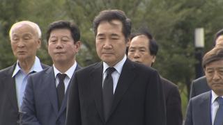 노무현 前대통령 10주기…여권 봉하 총집결