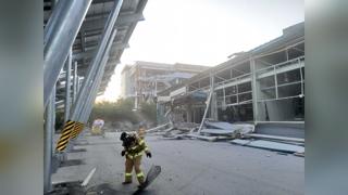 강릉과학단지 수소탱크 폭발…3명 사망