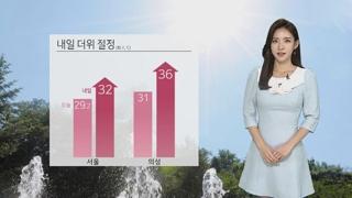 [날씨] 서울 올해 첫 폭염주의보…내일 서쪽 공기 탁해