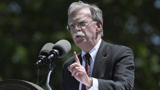 """볼턴 """"北 탄도미사일 발사는 유엔 안보리 결의 위반"""""""
