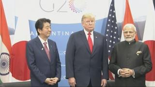 미·일·인도, 내달 G20서 3자 회담…'인도·태평양 구상' 논의