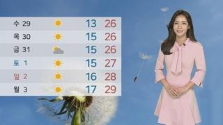 [날씨] 해안·산지 강풍 '주의'…내일 맑고 일교차 커