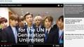 BTS decora la portada de la página web de la ONU