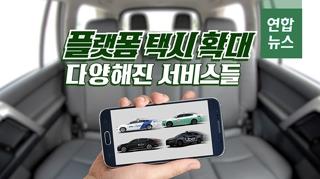 [포토무비] 플랫폼 택시 확대…다양해진 서비스들