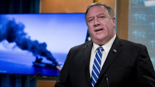 """폼페이오 美국무장관 """"이란, 유조선 공격에 책임있다"""""""