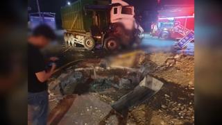 충남 아산 버스·덤프트럭 충돌…2명 사망·32명 부상