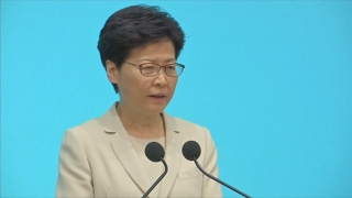 홍콩 행정장관 '200만 시위'에 공개사과…사퇴 요구는 거부