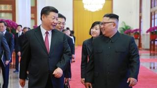 """시진핑, 北노동신문 기고…""""한반도문제 대화·협상 추동"""""""
