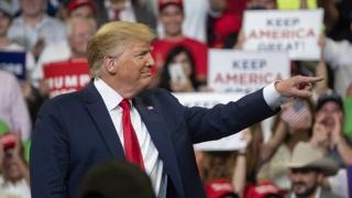 """트럼프 """"미국을 계속 위대하게""""…재선도전 선언"""