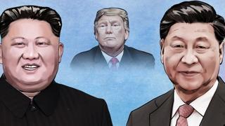 """""""북중 정상, G20 앞두고 트럼프 설득방안 논의"""""""