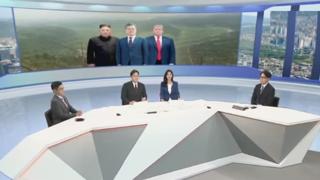 [뉴스초점] 트럼프-김정은, 판문점서 사실상 3차 북미 정상회담