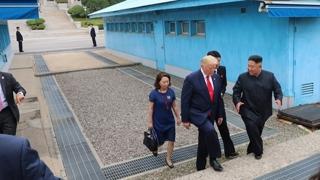 북미정상, 판문점서 3차 회담…비핵화협상 재개 합의