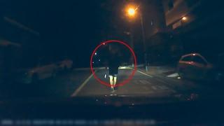 한밤 여성과 초등학생 탄 차량 쫓으며 둔기 휘둘러