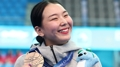 La saltadora de trampolín surcoreana Kim Su-ji gana un bronce histórico