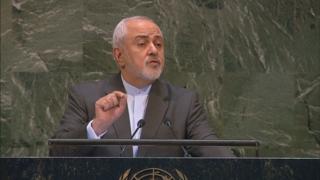 美 '제재 경고' 이란 외무장관 유엔회의 참석차 미국행
