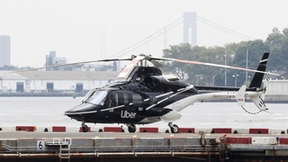 우버 택시 하늘을 날다…우버콥터 서비스 개시