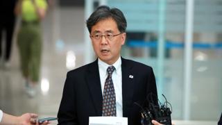 [현장연결] '日 경제보복 방미 협의' 김현종 귀국