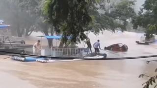 중국 남부지역에 '물폭탄'…추가 피해 우려